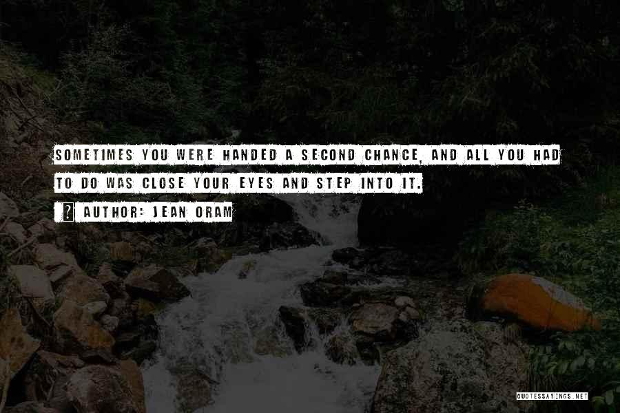 Love Second Chances Quotes By Jean Oram