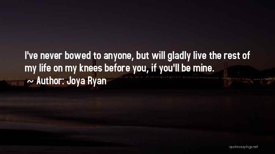 Love Second Chances Quotes By Joya Ryan