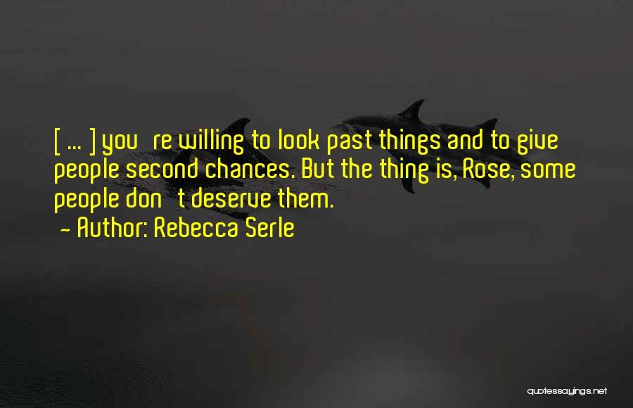 Love Second Chances Quotes By Rebecca Serle