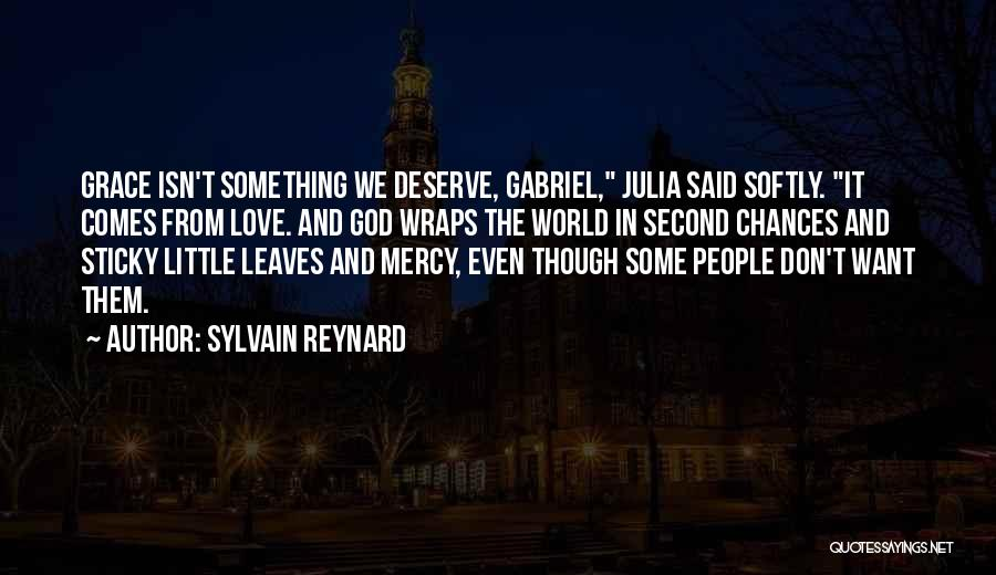 Love Second Chances Quotes By Sylvain Reynard