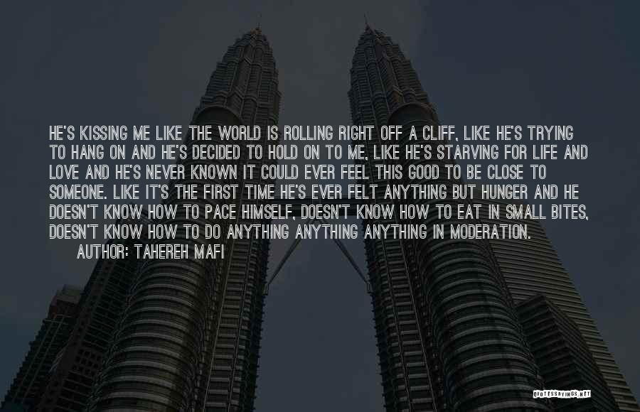 Love Starving Quotes By Tahereh Mafi
