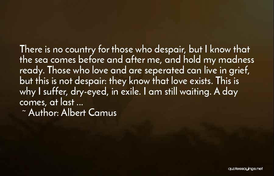 Love Still Exists Quotes By Albert Camus