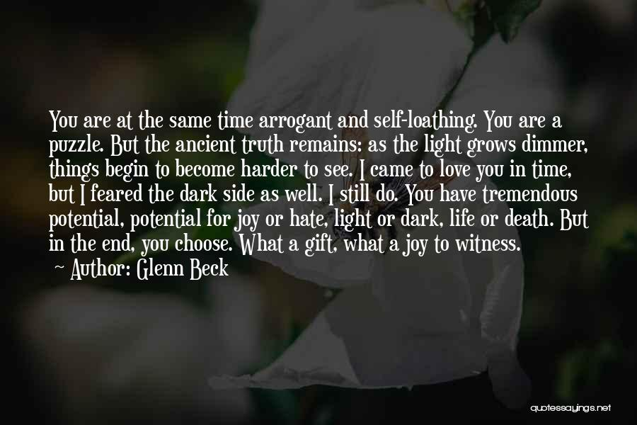 Love Still Remains Quotes By Glenn Beck