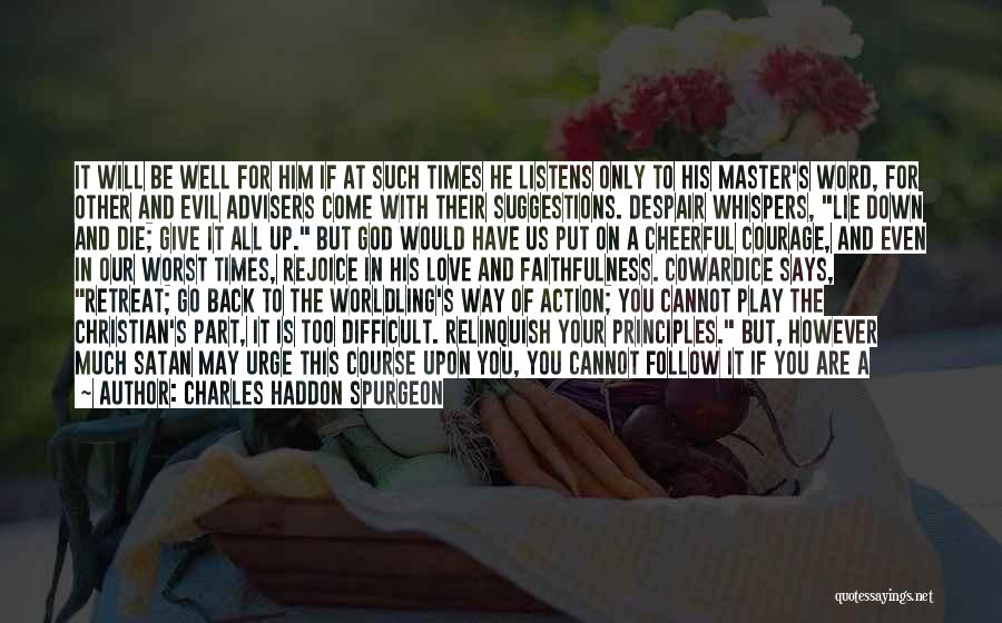 Love Suggestions Quotes By Charles Haddon Spurgeon