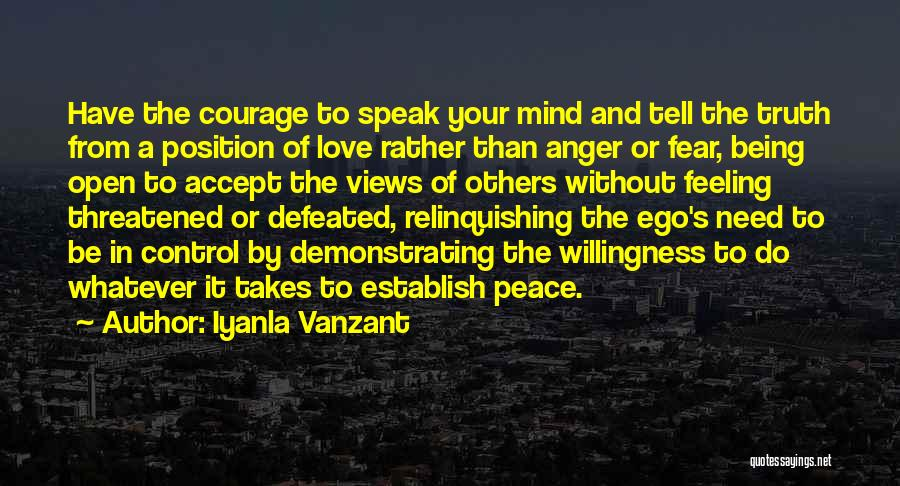 Love Takes Courage Quotes By Iyanla Vanzant