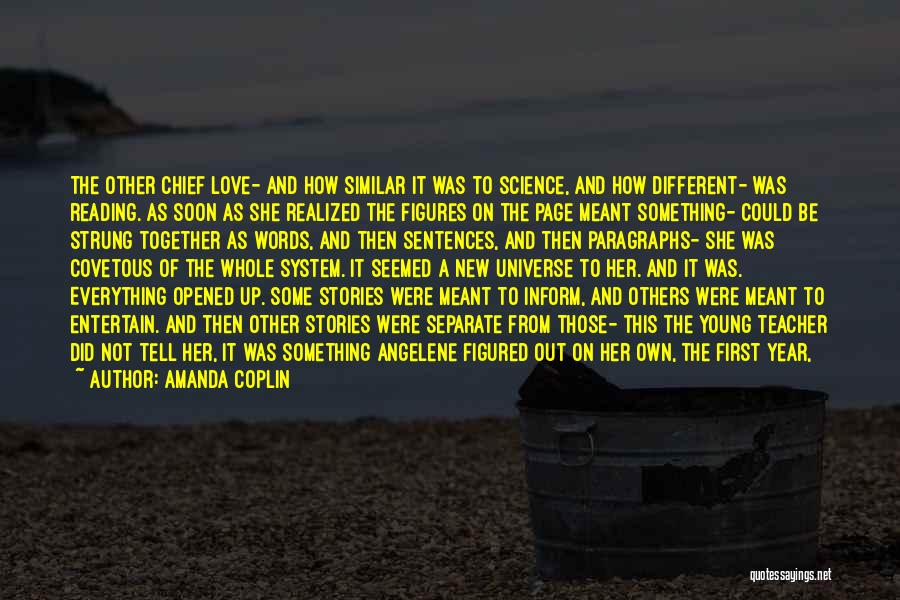 Love That Was Meant To Be Quotes By Amanda Coplin