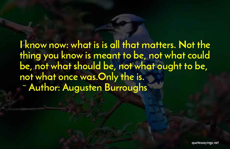 Love That Was Meant To Be Quotes By Augusten Burroughs