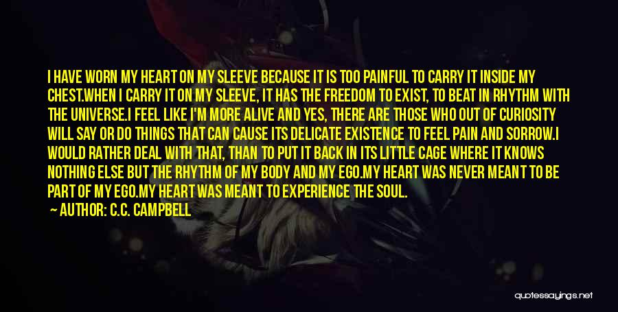 Love That Was Meant To Be Quotes By C.C. Campbell