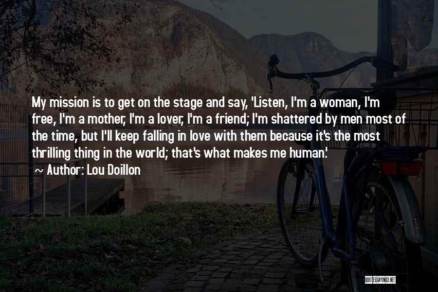 Love That Woman Quotes By Lou Doillon