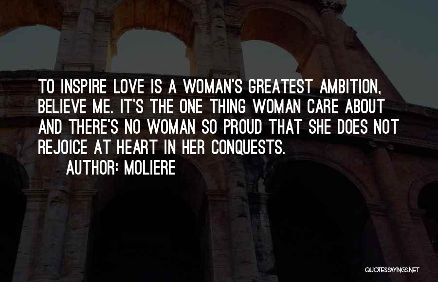 Love That Woman Quotes By Moliere