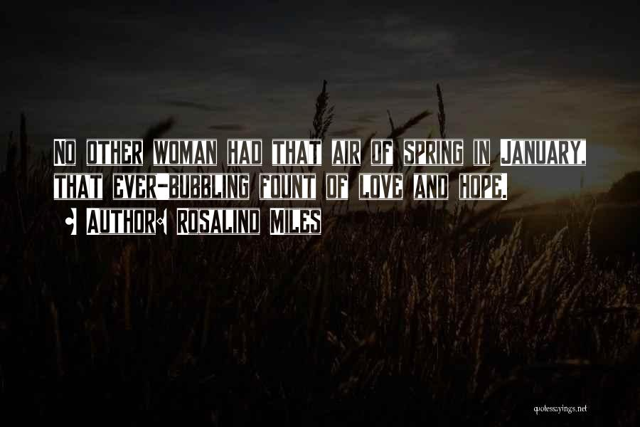 Love That Woman Quotes By Rosalind Miles