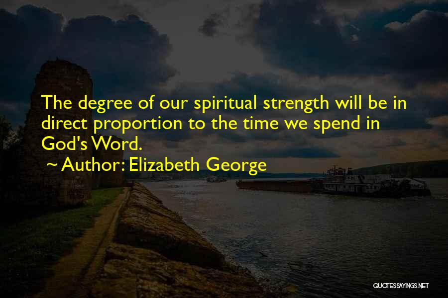 Love The Spirit Quotes By Elizabeth George