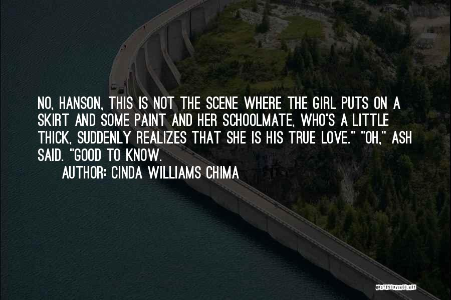Top 3 Love Thick Girl Quotes & Sayings