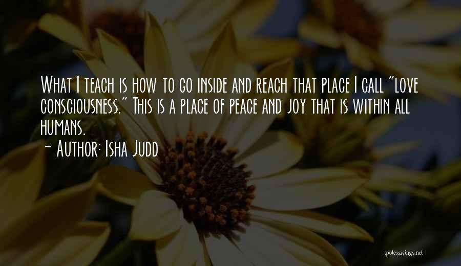 Love This Place Quotes By Isha Judd