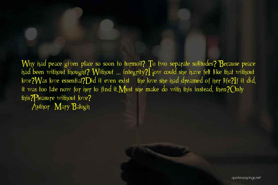 Love This Place Quotes By Mary Balogh