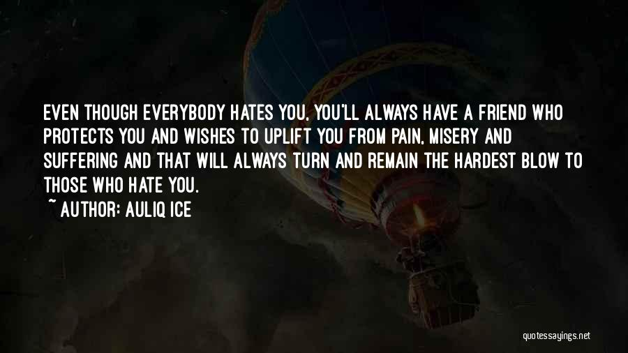 Love Those Who Hates You Quotes By Auliq Ice