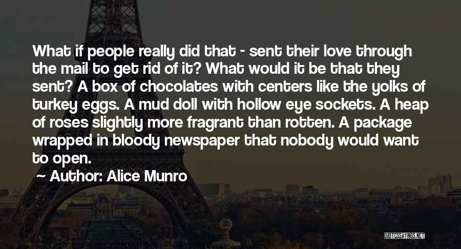 Love Through Eye Quotes By Alice Munro