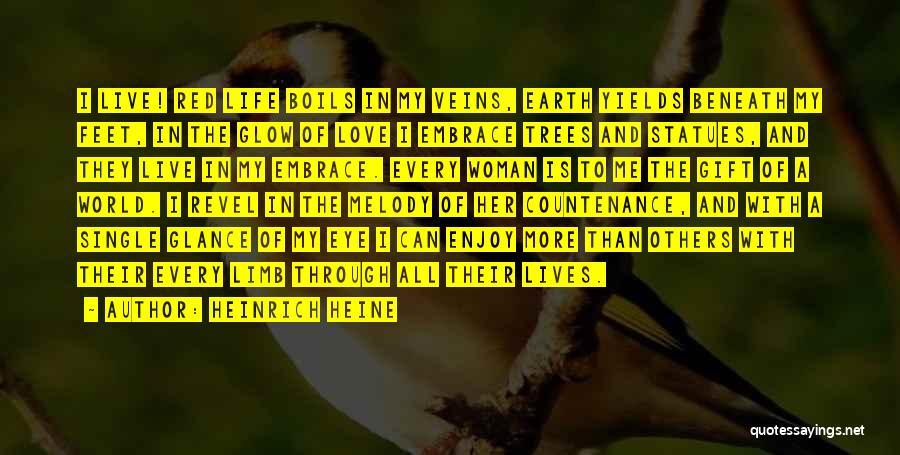 Love Through Eye Quotes By Heinrich Heine