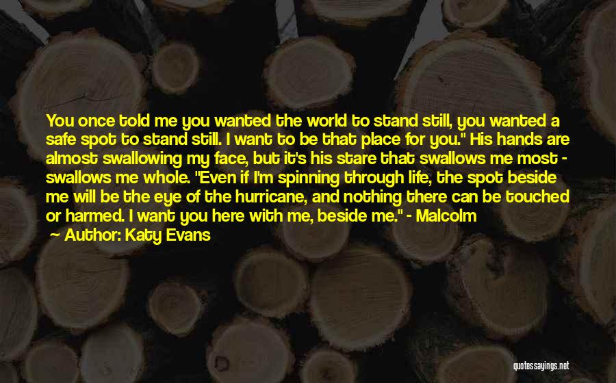 Love Through Eye Quotes By Katy Evans