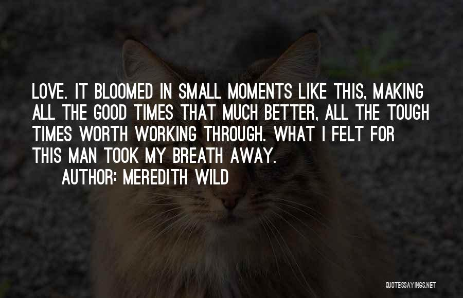 Love Through Tough Times Quotes By Meredith Wild