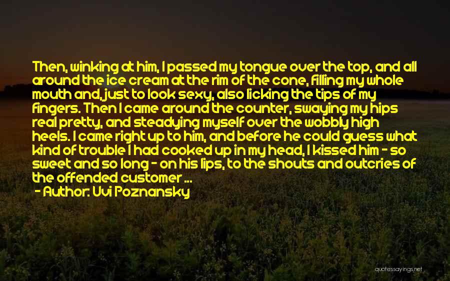 Love Tips Quotes By Uvi Poznansky