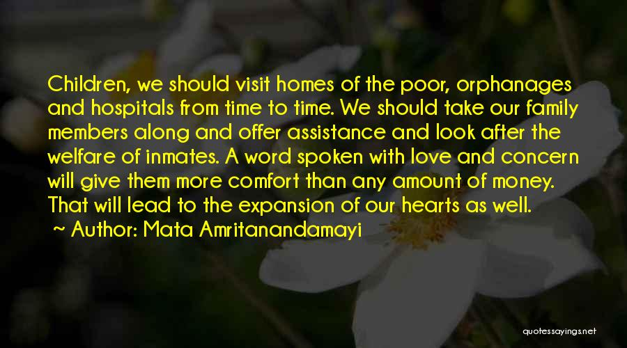 Love To Family Quotes By Mata Amritanandamayi