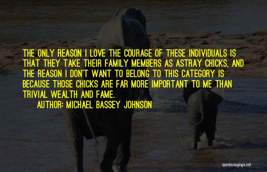 Love To Family Quotes By Michael Bassey Johnson