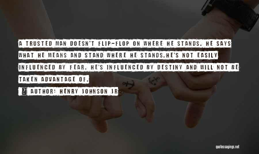 Love Trust And Honesty Quotes By Henry Johnson Jr