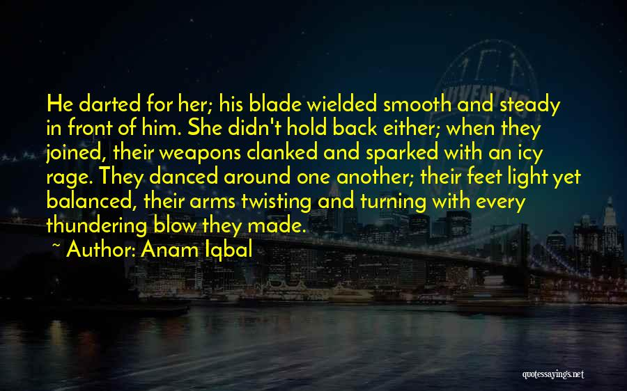 Love Twisting Quotes By Anam Iqbal