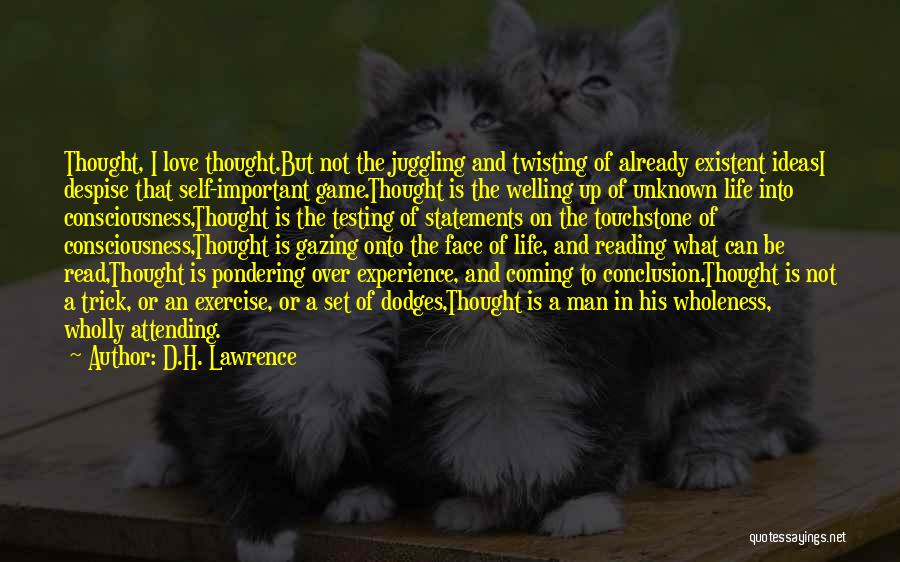 Love Twisting Quotes By D.H. Lawrence