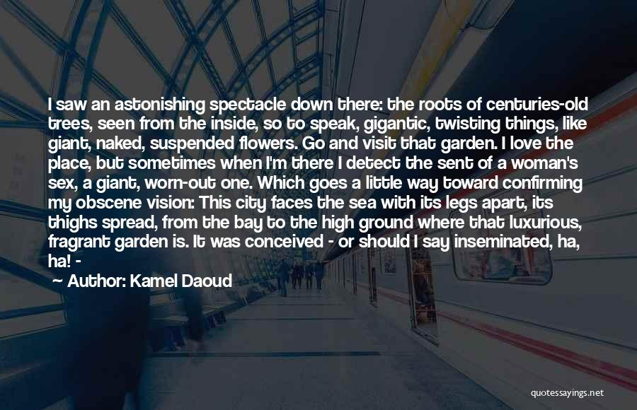 Love Twisting Quotes By Kamel Daoud