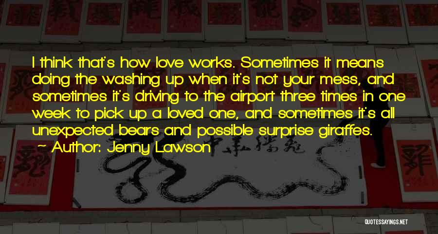 Love Unexpected Quotes By Jenny Lawson