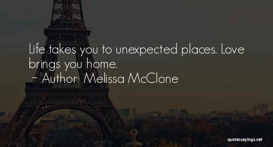 Love Unexpected Quotes By Melissa McClone
