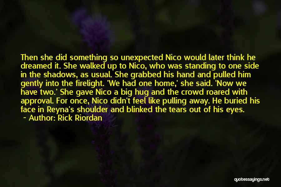 Love Unexpected Quotes By Rick Riordan