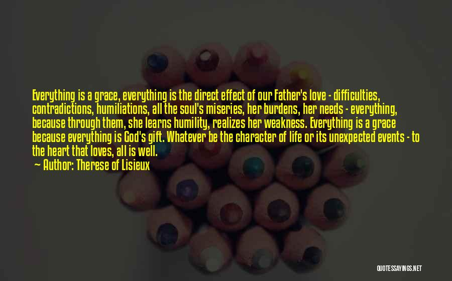 Love Unexpected Quotes By Therese Of Lisieux