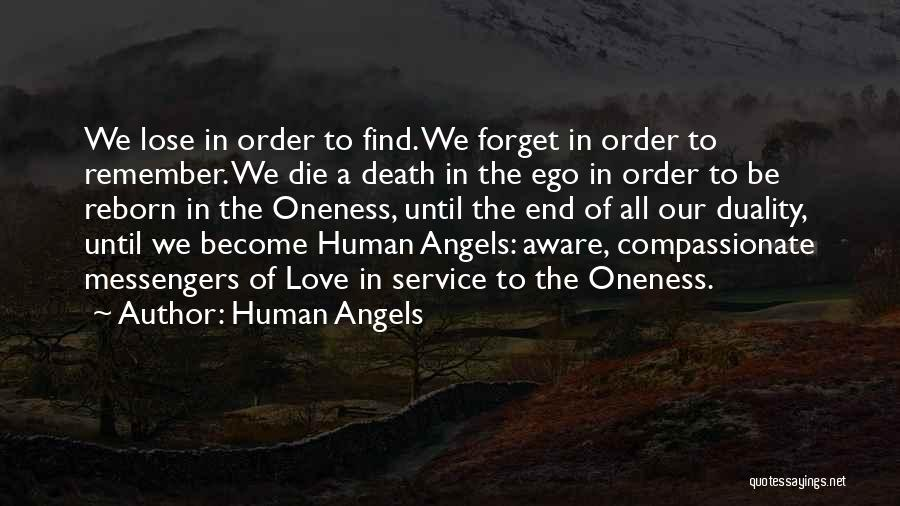 Love Until Die Quotes By Human Angels
