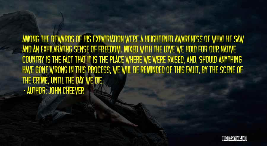 Love Until Die Quotes By John Cheever