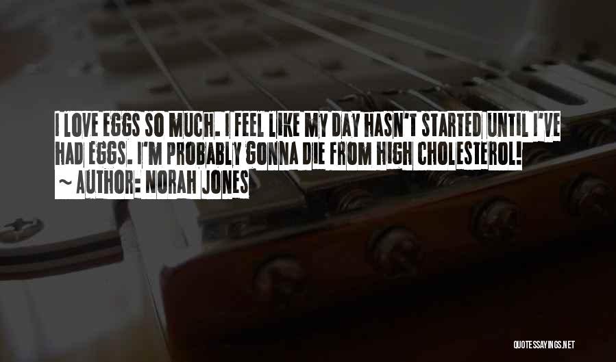 Love Until Die Quotes By Norah Jones