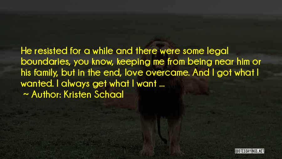 Love Vs Family Quotes By Kristen Schaal