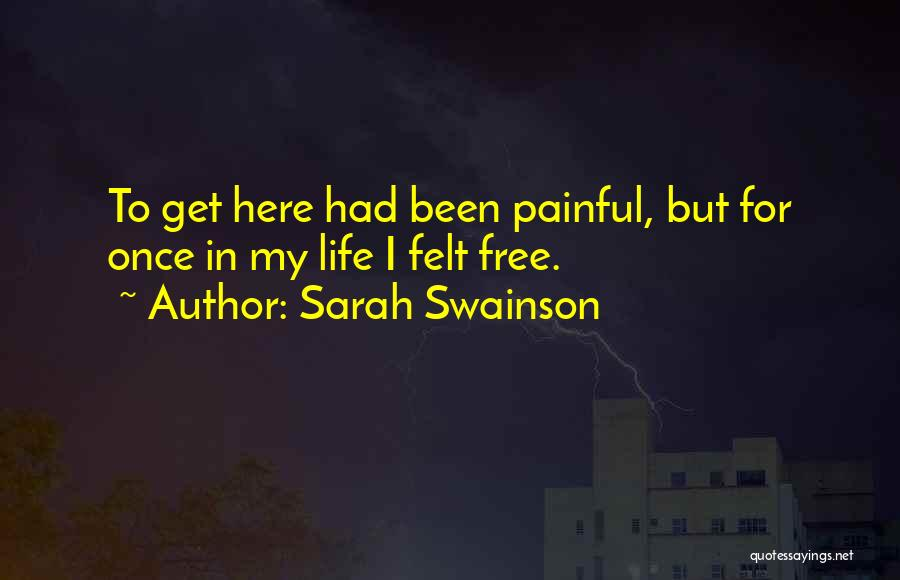 Love Vs Family Quotes By Sarah Swainson