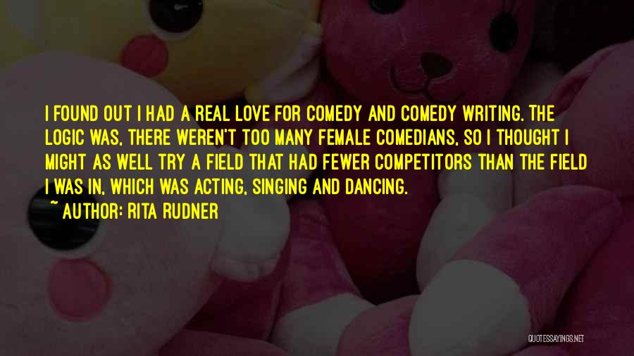 Love Well Quotes By Rita Rudner
