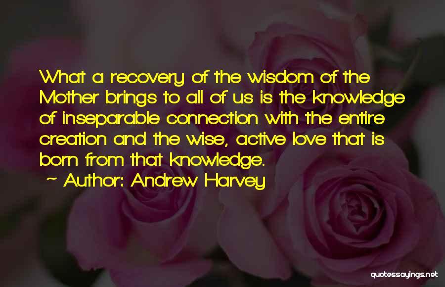 Love Wisdom Quotes By Andrew Harvey
