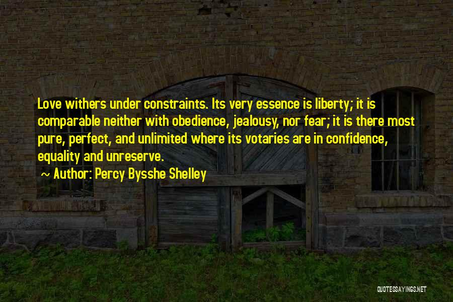 Love Withers Quotes By Percy Bysshe Shelley