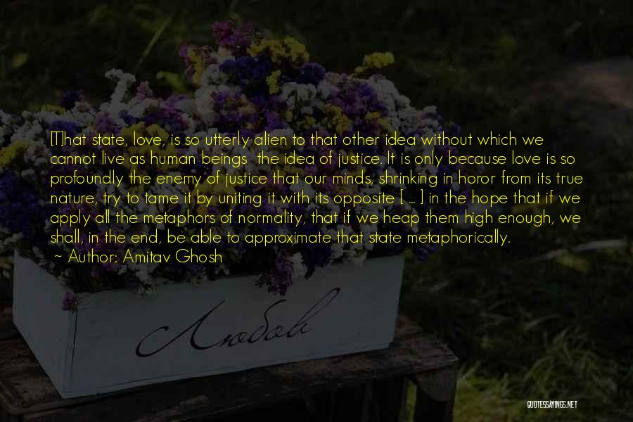 Love Without End Quotes By Amitav Ghosh