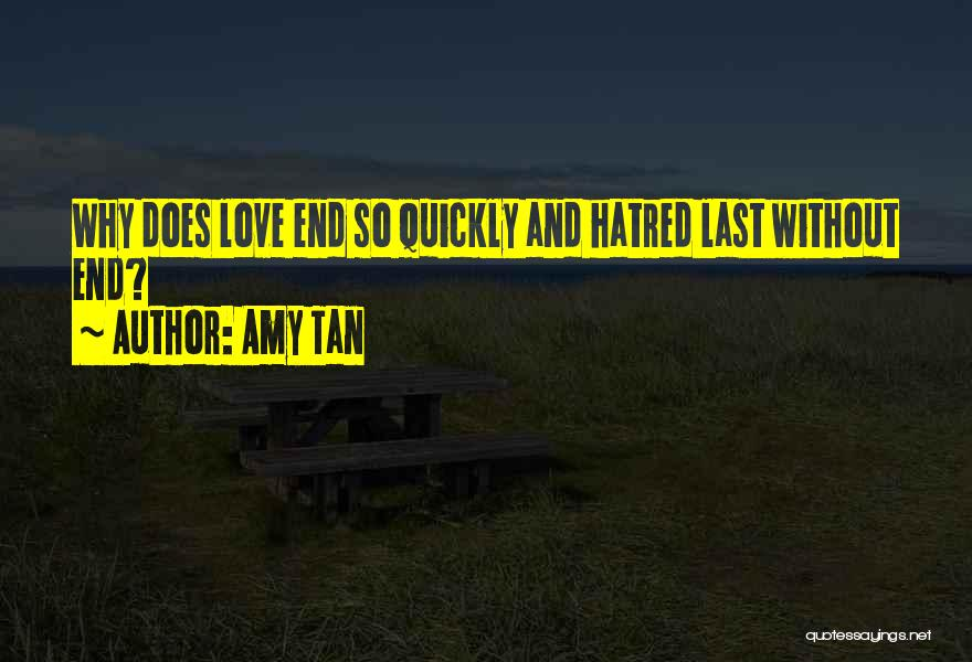 Love Without End Quotes By Amy Tan