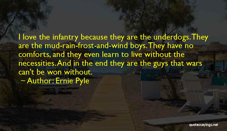 Love Without End Quotes By Ernie Pyle