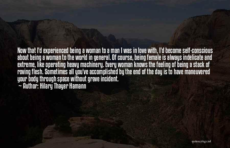 Love Without End Quotes By Hilary Thayer Hamann