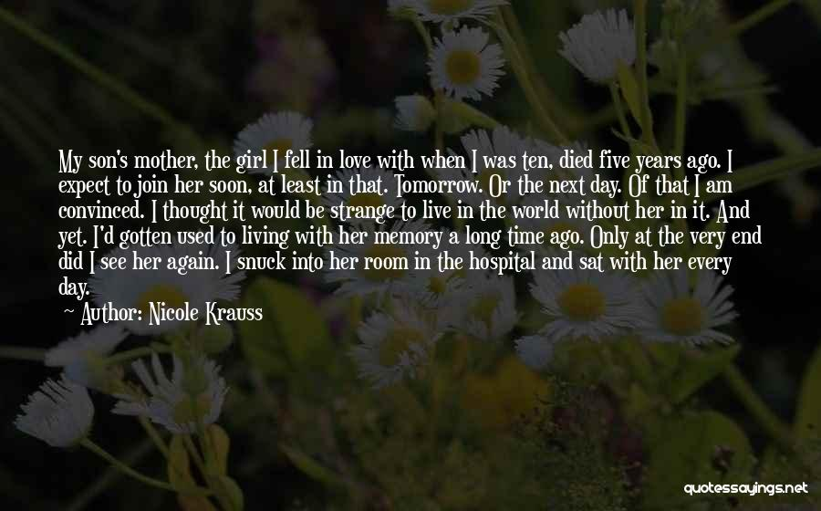 Love Without End Quotes By Nicole Krauss