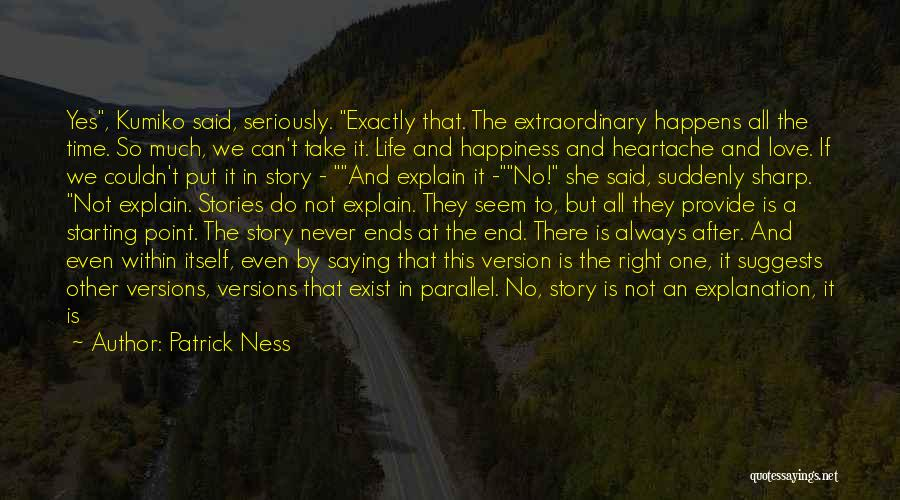 Love Without End Quotes By Patrick Ness