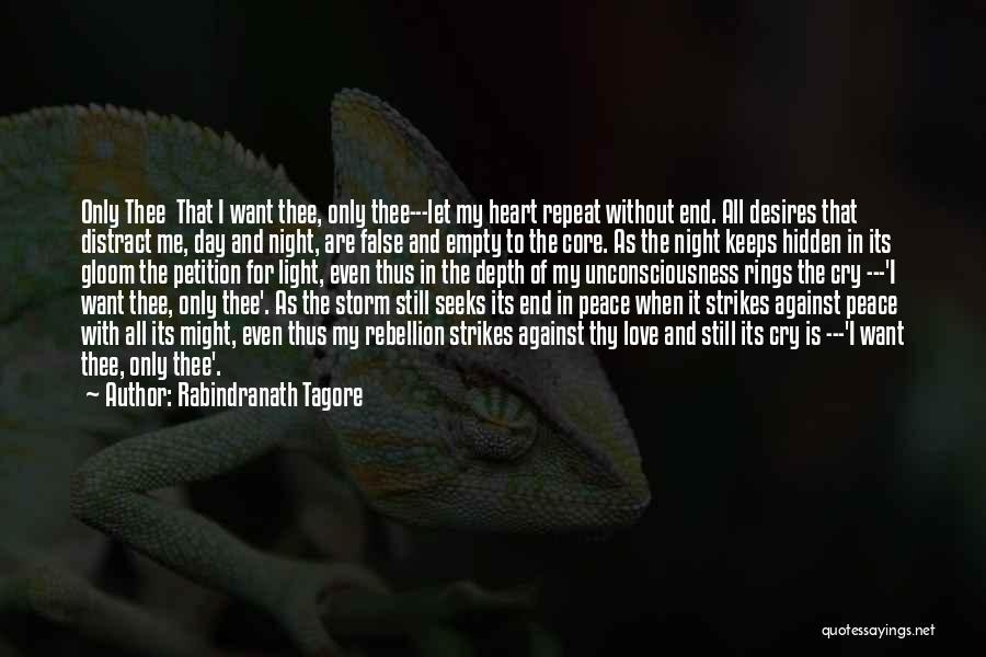 Love Without End Quotes By Rabindranath Tagore